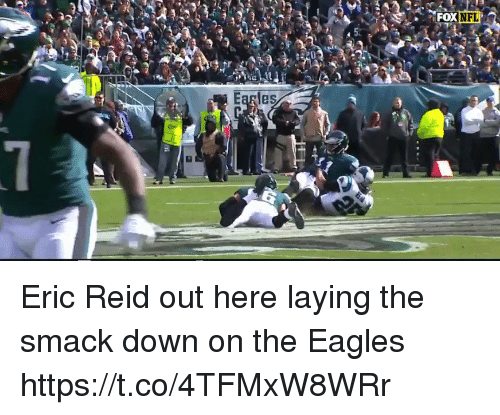 Philadelphia Eagles, Football, and Nfl: NFL  Earles Eric Reid out here laying the smack down on the Eagles https://t.co/4TFMxW8WRr