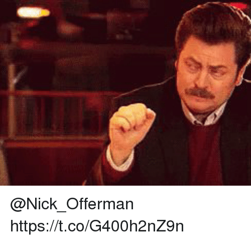 Memes, Nick Offerman, and Nick: @Nick_Offerman https://t.co/G400h2nZ9n