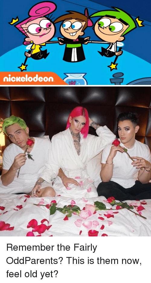 The Fairly OddParents: nickelodeon Remember the Fairly OddParents? This is them now, feel old yet?