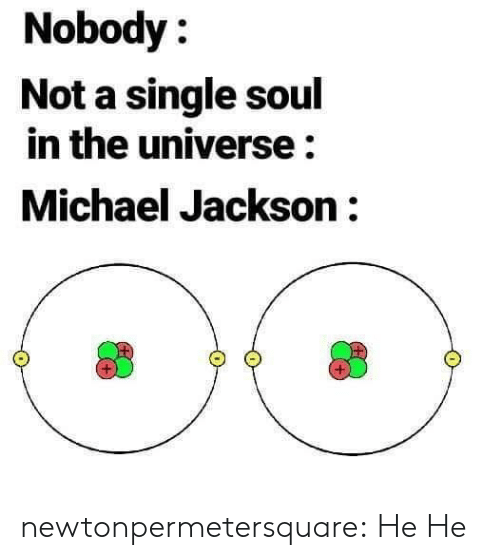 Michael Jackson: Nobody:  Not a single soul  in the universe:  Michael Jackson: newtonpermetersquare:  He He