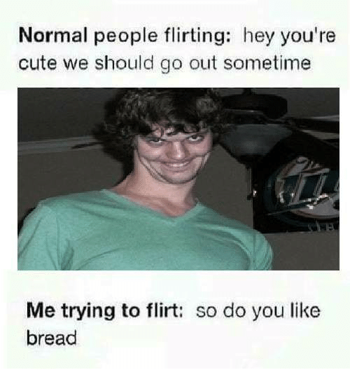 flirting meme with bread mix for a crowd video