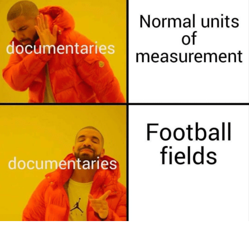 measurement: Normal units  of  measurement  documentaries  Football  entaries fields