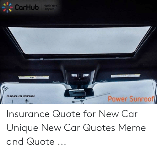 New Car Quotes >> North York Compare Car Insurance Power Sunroof Insurance