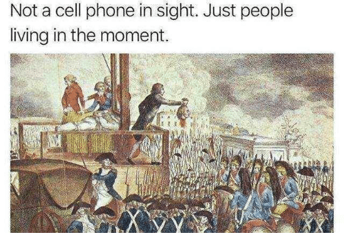 Phone, Living, and Cell Phone: Not a cell phone in sight. Just people  living in the moment.  啅1