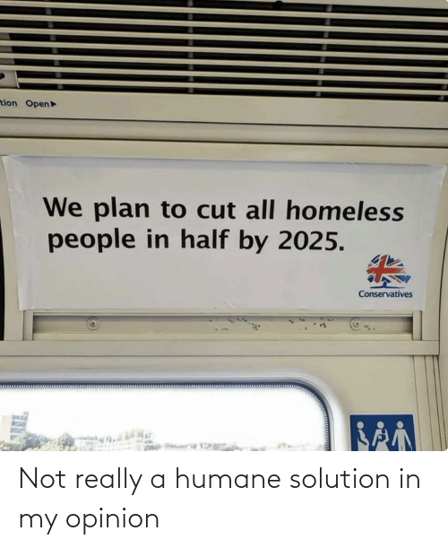 really: Not really a humane solution in my opinion