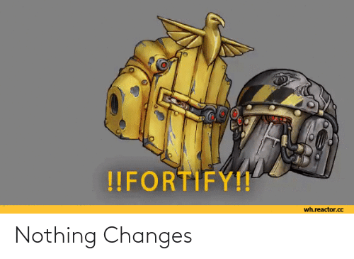 changes: Nothing Changes