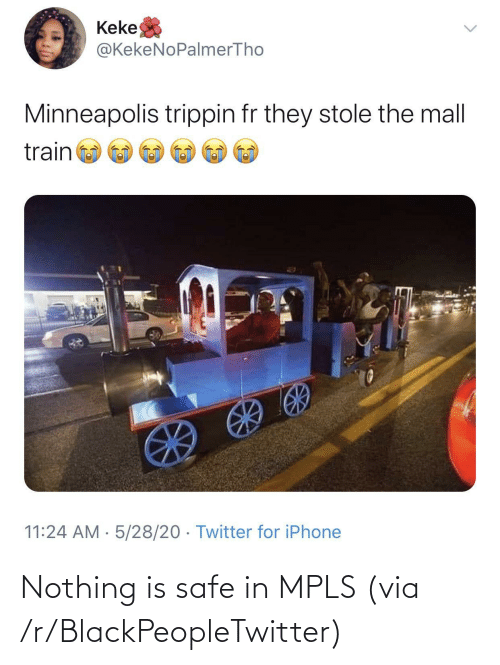 safe: Nothing is safe in MPLS (via /r/BlackPeopleTwitter)