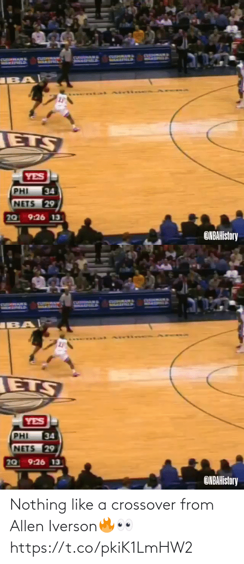nothing: Nothing like a crossover from Allen Iverson🔥👀 https://t.co/pkiK1LmHW2