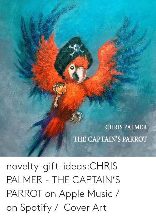 Single: novelty-gift-ideas:CHRIS PALMER - THE CAPTAIN'S PARROT on Apple Music /  on Spotify /  Cover Art