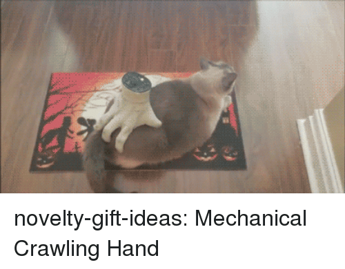 Tumblr, Blog, and Com: novelty-gift-ideas:  Mechanical Crawling Hand
