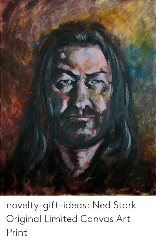 Canvas: novelty-gift-ideas:    Ned Stark Original Limited Canvas Art Print