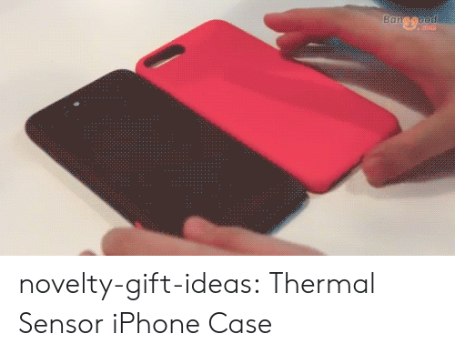 iphone case: novelty-gift-ideas:  Thermal Sensor iPhone Case