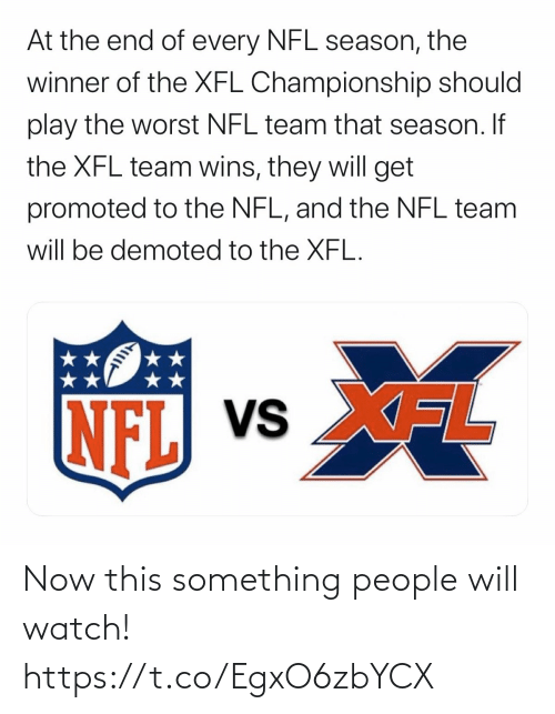 Football, Nfl, and Sports: Now this something people will watch! https://t.co/EgxO6zbYCX