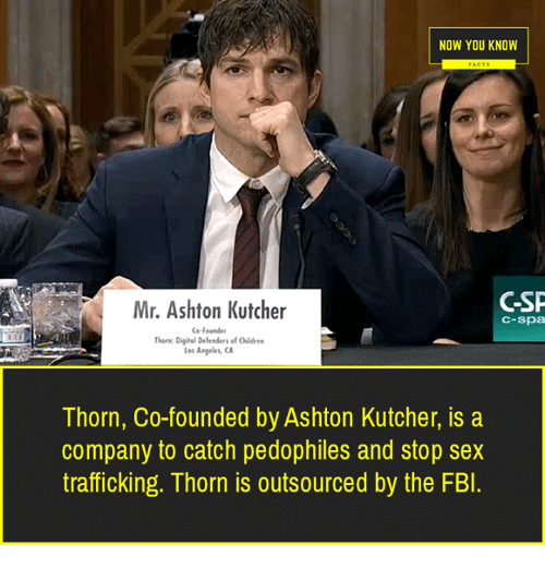 NOW YOU KNOW Mr Ashton Kutcher G-Sp C-Spa Co Founder Horn