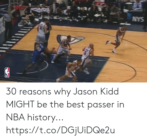 Passer: NYS  ప్  0 30 reasons why Jason Kidd MIGHT be the best passer in NBA history... https://t.co/DGjUiDQe2u