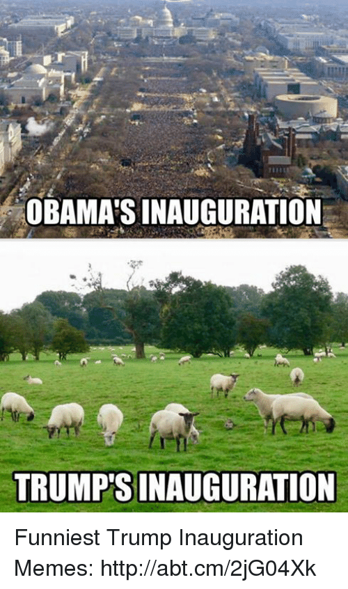 Funniest Trump: OBAMASINAUGURATION  TRUMPSINAUGURATION Funniest Trump Inauguration Memes: http://abt.cm/2jG04Xk