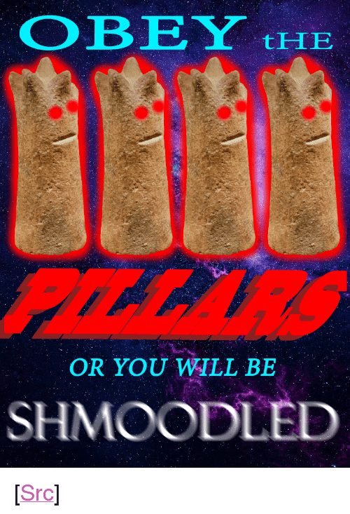 """obe: OBE Y  tHE  OR YOU WILL BE  SHMOODLED <p>[<a href=""""https://www.reddit.com/r/surrealmemes/comments/7qtkqm/o_b_e_y/"""">Src</a>]</p>"""