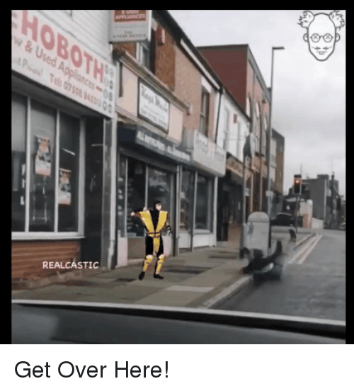 Funny, Used, and Get: OBOT  & Used A Get Over Here!