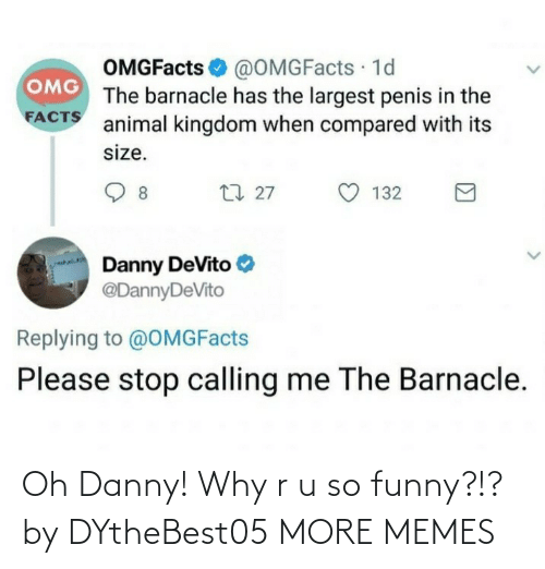 danny: Oh Danny! Why r u so funny?!? by DYtheBest05 MORE MEMES