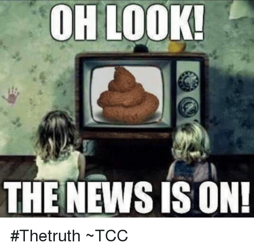 Memes, 🤖, and Newsies: OH LOOK!  THE NEWSIS ON! #Thetruth  ~TCC