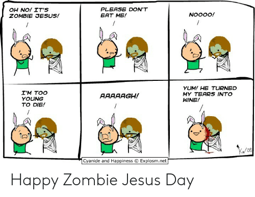 eb3a840c26 🅱 25+ Best Memes About Happy Zombie Jesus Day