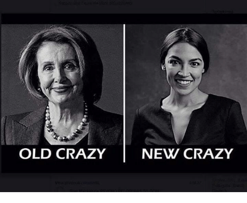 Crazy, Conservative, and Old: OLD CRAZY NEW CRAZY