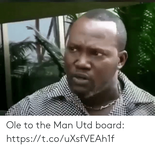 Soccer, Board, and Man Utd: Ole to the Man Utd board: https://t.co/uXsfVEAh1f