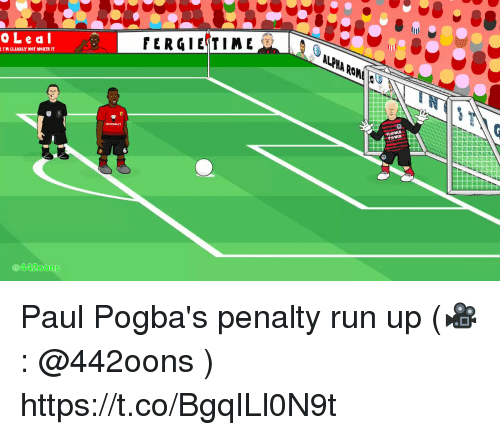 Memes, Run, and 🤖: OLeal  ALp  PHA  Ro  @4420ons Paul Pogba's penalty run up  (🎥: @442oons ) https://t.co/BgqILl0N9t