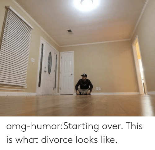 Omg, Tumblr, and Blog: omg-humor:Starting over. This is what divorce looks like.