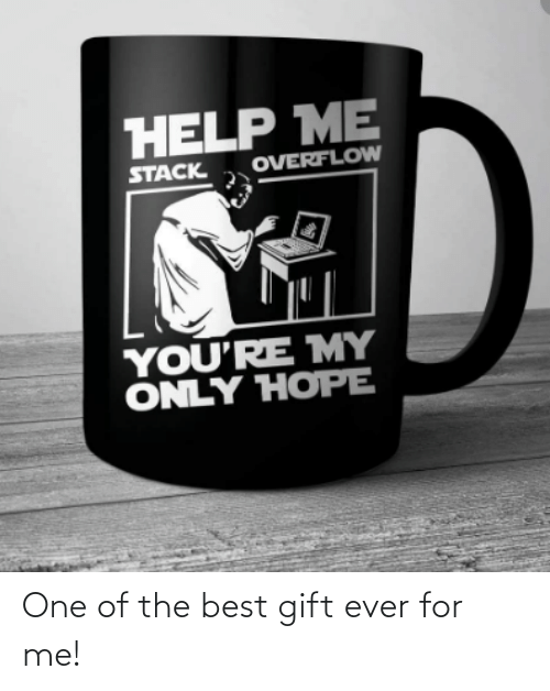 For Me: One of the best gift ever for me!