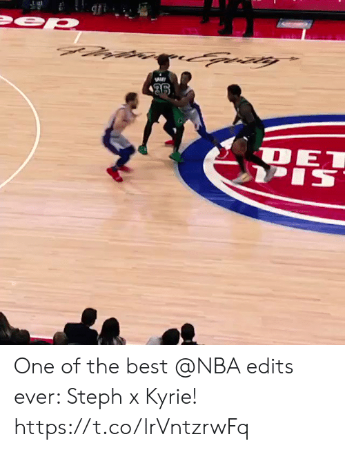 Memes, Nba, and Best: One of the best @NBA edits ever: Steph x Kyrie!     https://t.co/lrVntzrwFq