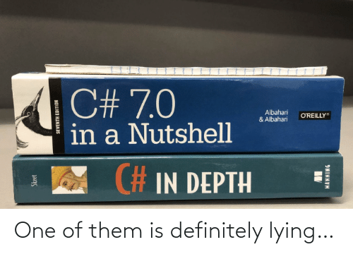 Lying: One of them is definitely lying…
