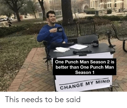 🅱️ 25+ Best Memes About One Punch Man Season 2   One Punch Man