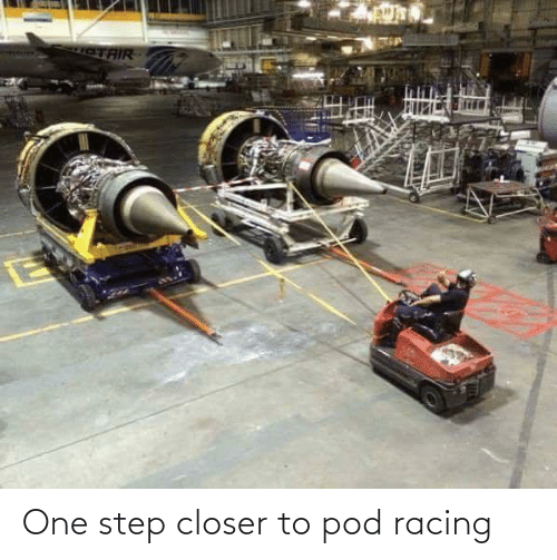one: One step closer to pod racing