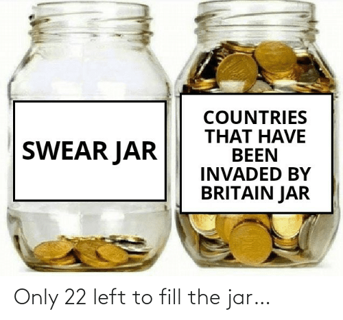 The: Only 22 left to fill the jar…