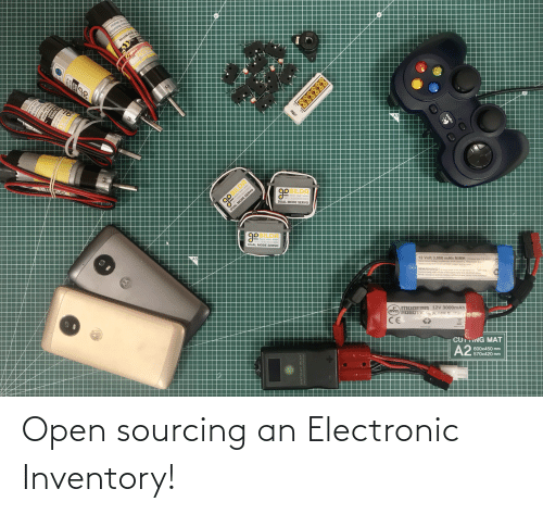 open: Open sourcing an Electronic Inventory!