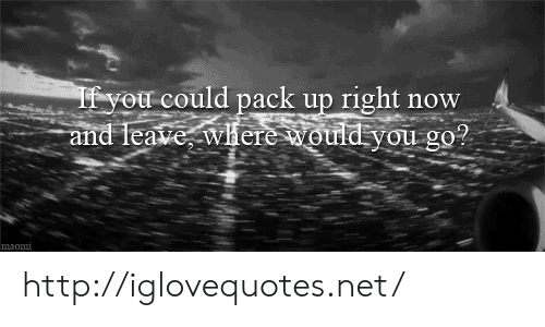 Http, Net, and You: our could pack up right now  nd TeaveWhereould  you go  ?  9.  m3om http://iglovequotes.net/
