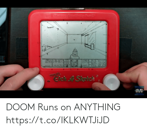Doom, Cell, and Health: oVEking Creativity Funt  SO1eds  Lecis  CELL 300  HEALTH  4RMDS  h A Sketch DOOM Runs on ANYTHING https://t.co/IKLKWTJiJD