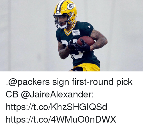 first-round-pick: PACKERS  bellin .@packers sign first-round pick CB @JaireAlexander: https://t.co/KhzSHGIQSd https://t.co/4WMuO0nDWX