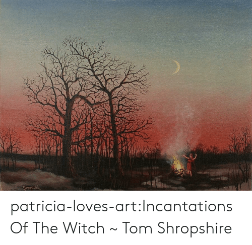 patricia: patricia-loves-art:Incantations Of The Witch ~ Tom Shropshire
