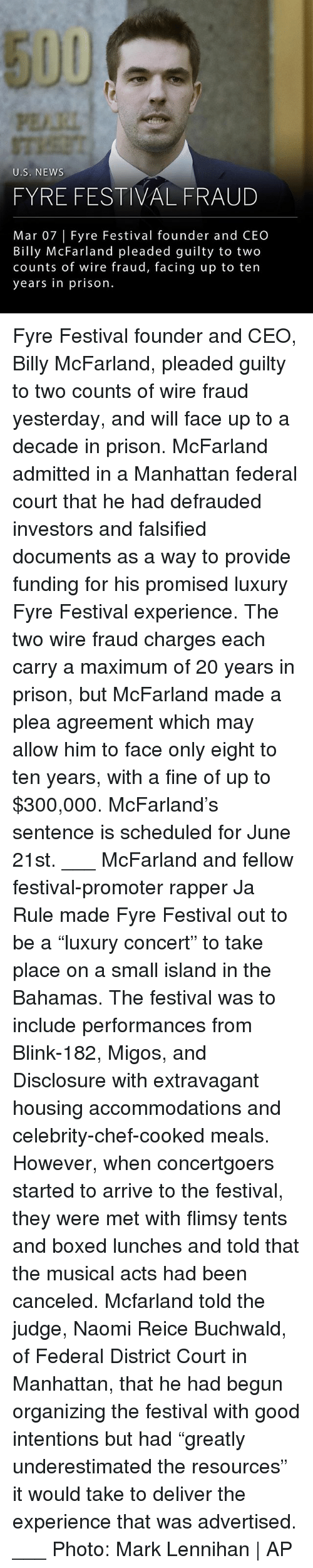 """Ja Rule, Memes, and Migos: PE.RI  U.S. NEWS  FYRE FESTIVAL FRAUD  Mar 07 