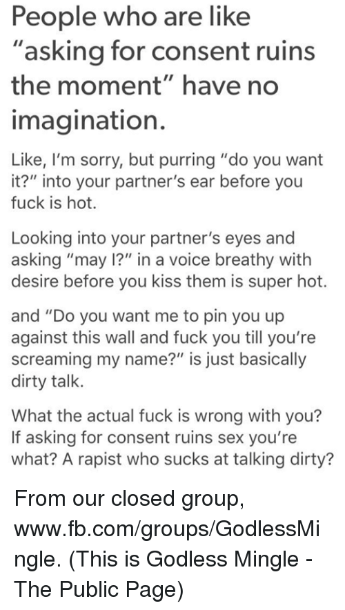 who do you want to fuck