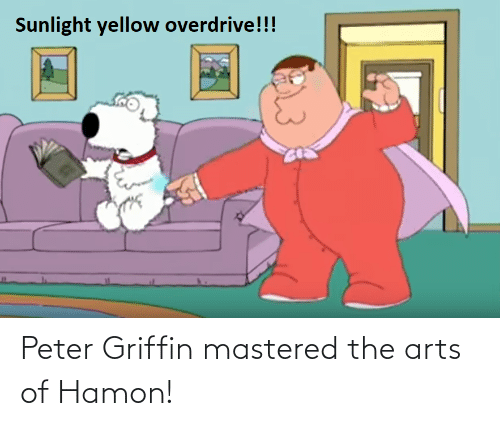 Peter Griffin: Peter Griffin mastered the arts of Hamon!
