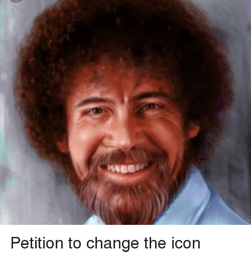 Change, Icon, and Petition: Petition to change the icon
