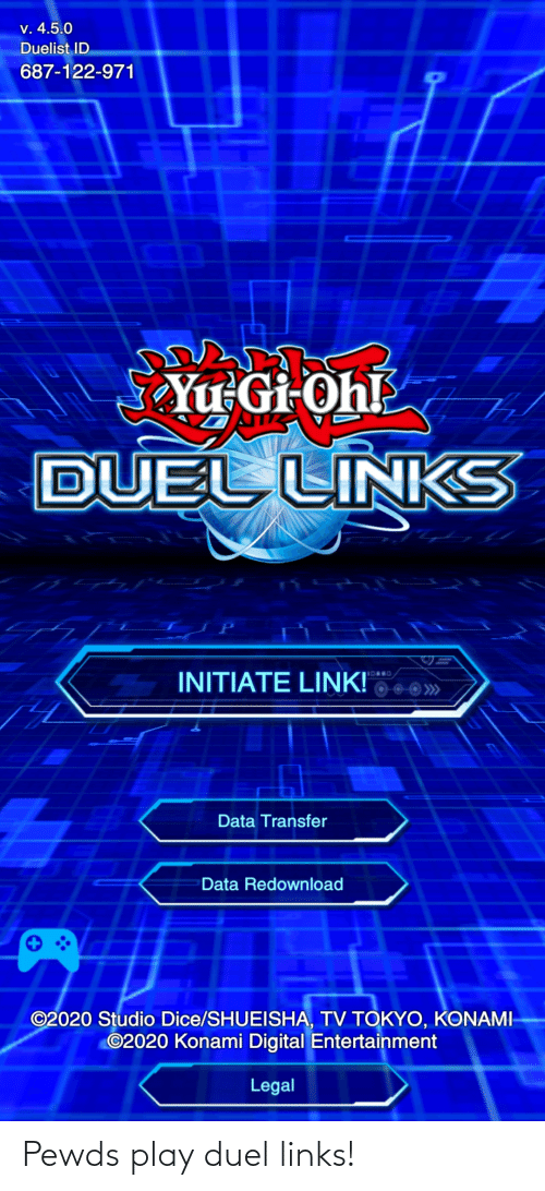 links: Pewds play duel links!