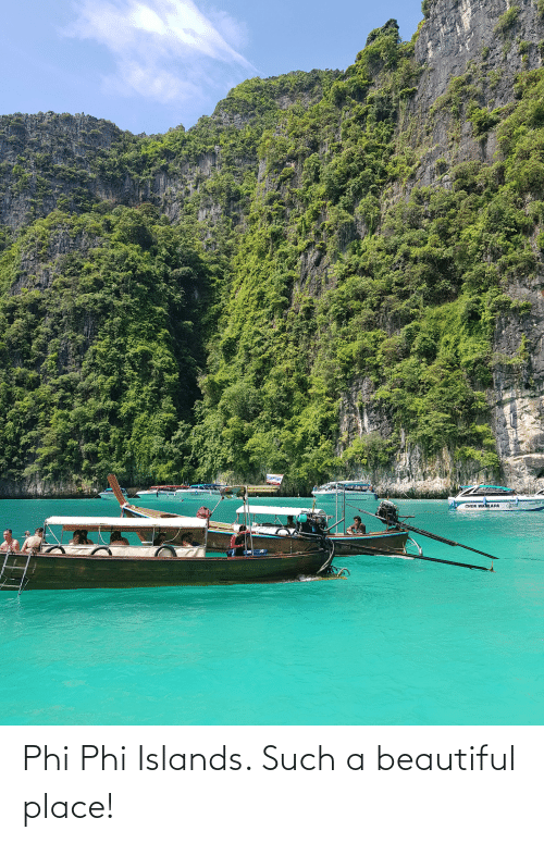 phi: Phi Phi Islands. Such a beautiful place!