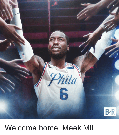 Meek Mill, Home, and Meek: Phila  B R Welcome home, Meek Mill.