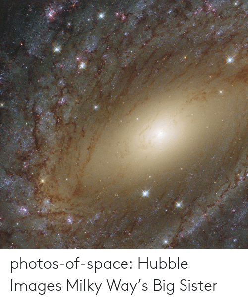 Milky Way: photos-of-space:  Hubble Images Milky Way's Big Sister