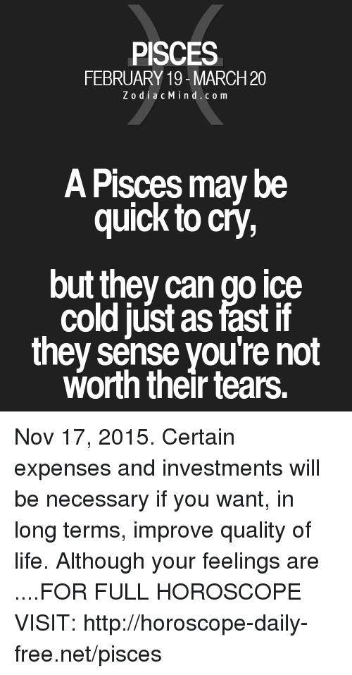 pisces horoscope march 20