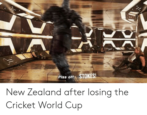 cricket world cup: Piss off STOKES New Zealand after losing the Cricket World Cup